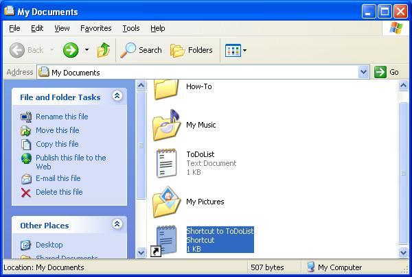 Creating a Desktop Shortcut - Top Hat Techs